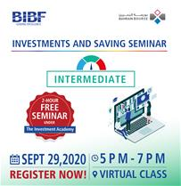 Investment & Savings Seminar - Intermediate