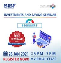Investment & Savings Seminar – For Beginners